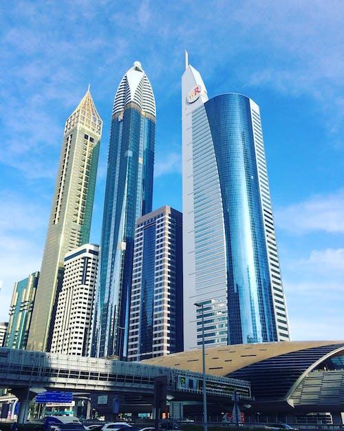 Imagine de stoc gratuită din vedere pe șoseaua sheikh zayed din dubai