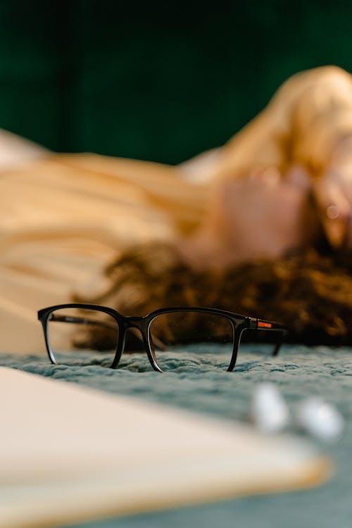 Kostenloses Stock Foto zu brille, brillen, nahansicht