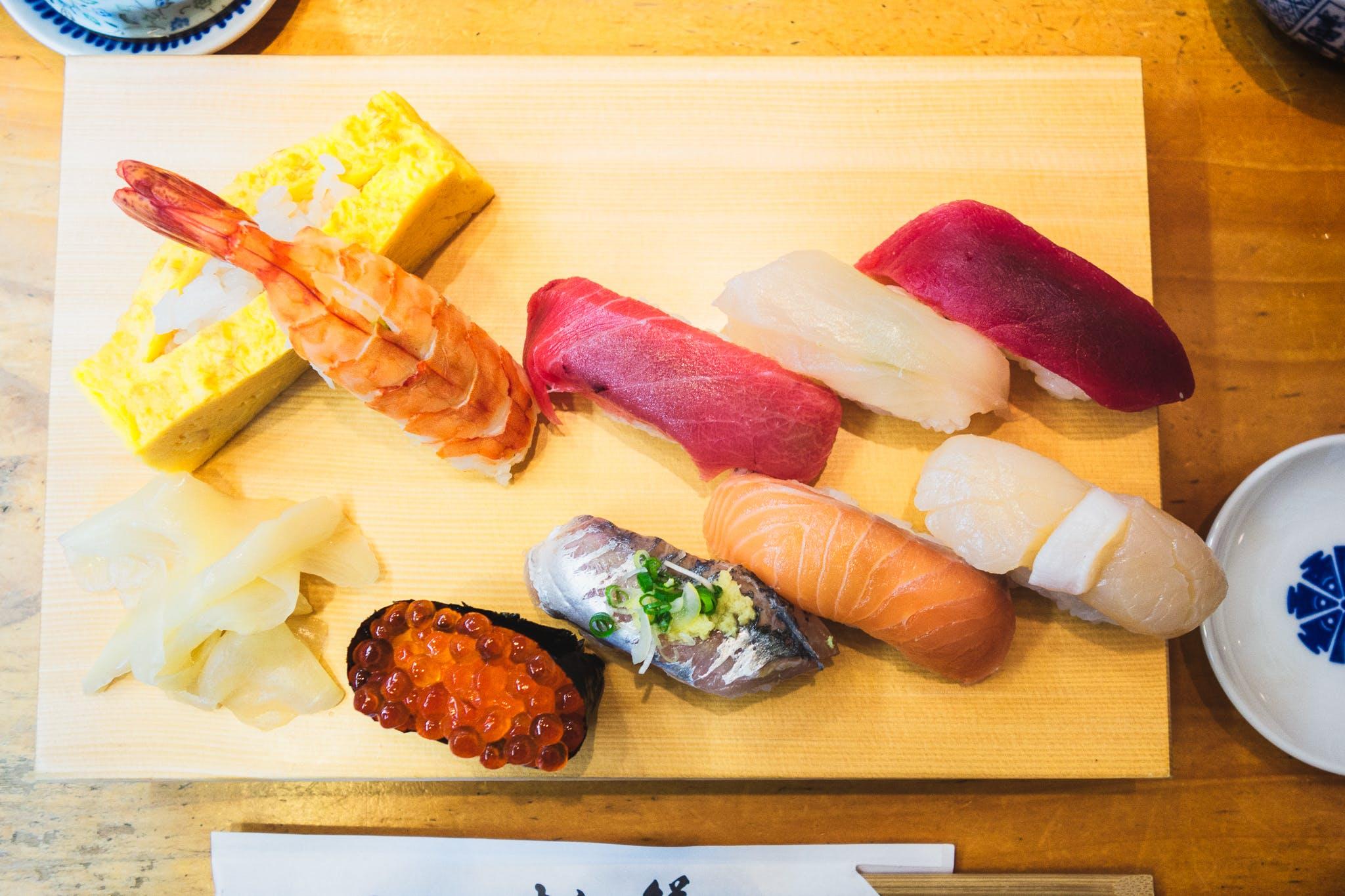 Free stock photo of food, sushi, japan