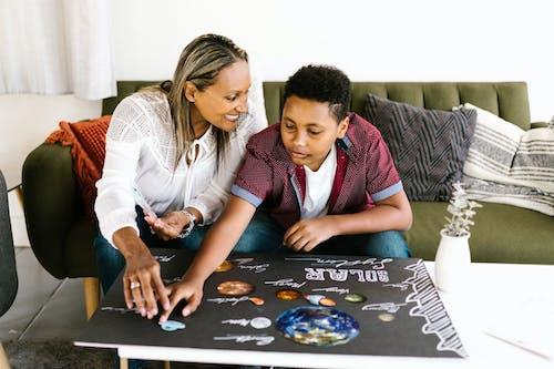 Ilmainen kuvapankkikuva tunnisteilla aikaa lasten kanssa, aikuinen, aurinkokunta