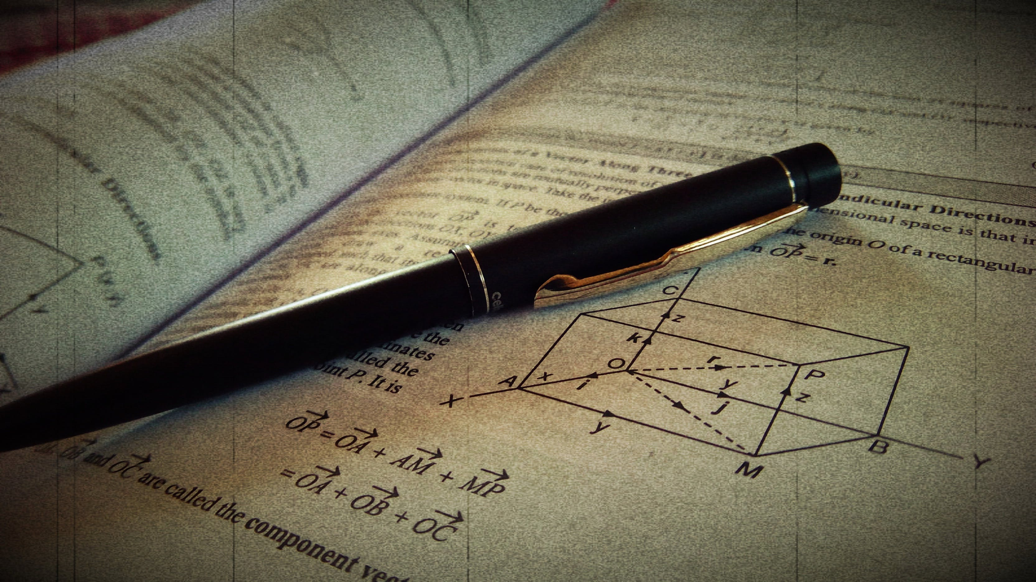 Free stock photo of A vintage art of pen upon paper