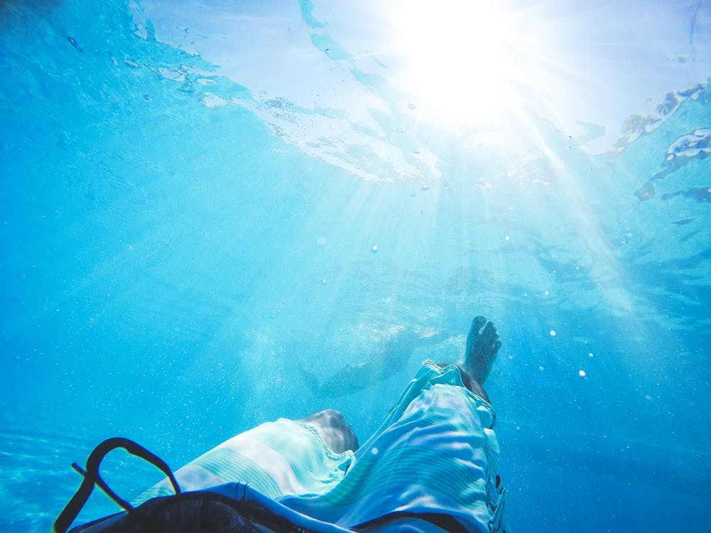 Free stock photo of blue sea, clear water, dive