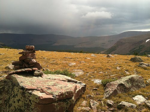 Základová fotografie zdarma na téma cairn, joe leineweber, uinta hory