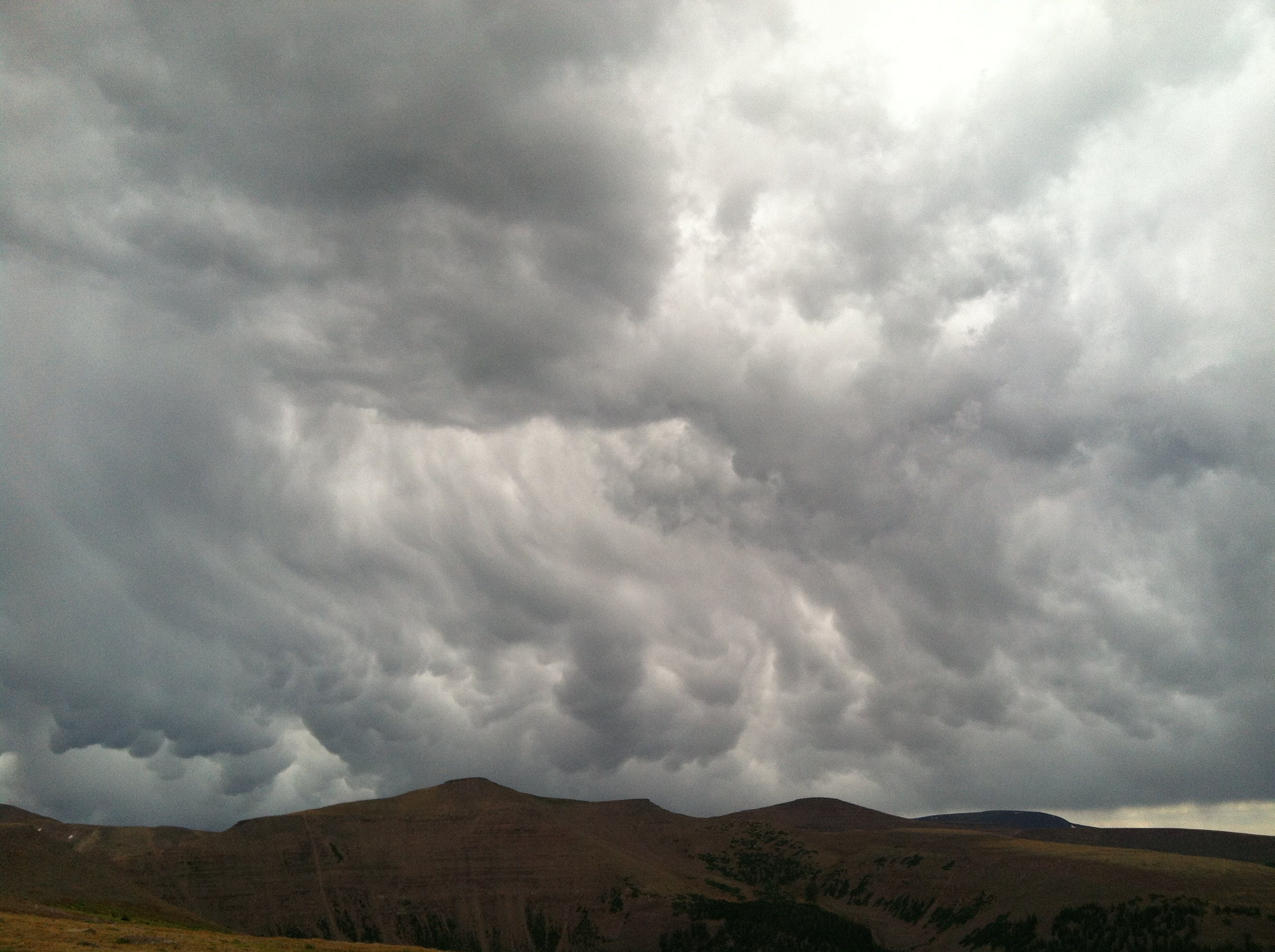 Free stock photo of Joe Leineweber, Thunderclouds, uinta mountains