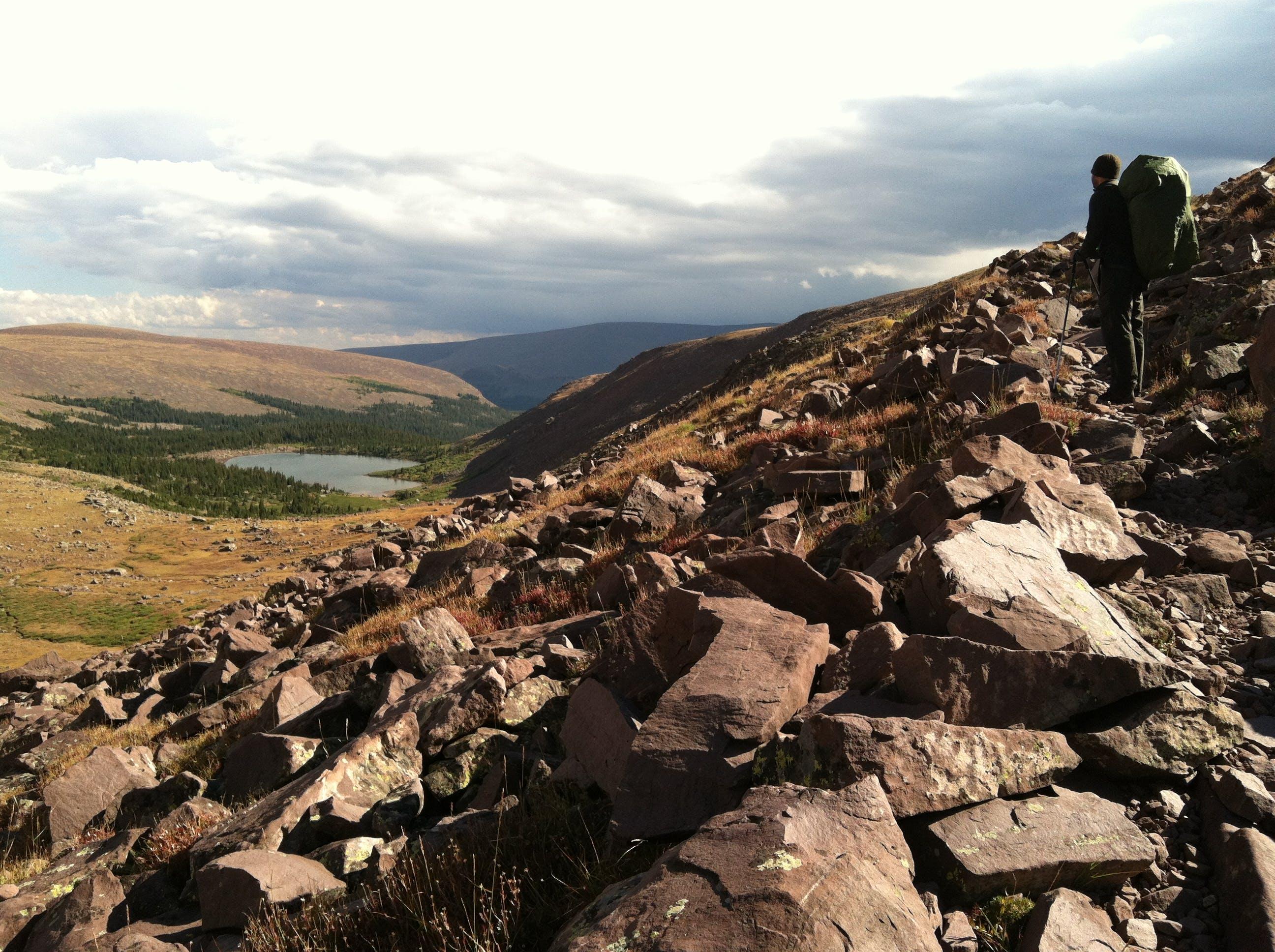 Free stock photo of backpacking, Joe Leineweber, uinta mountains