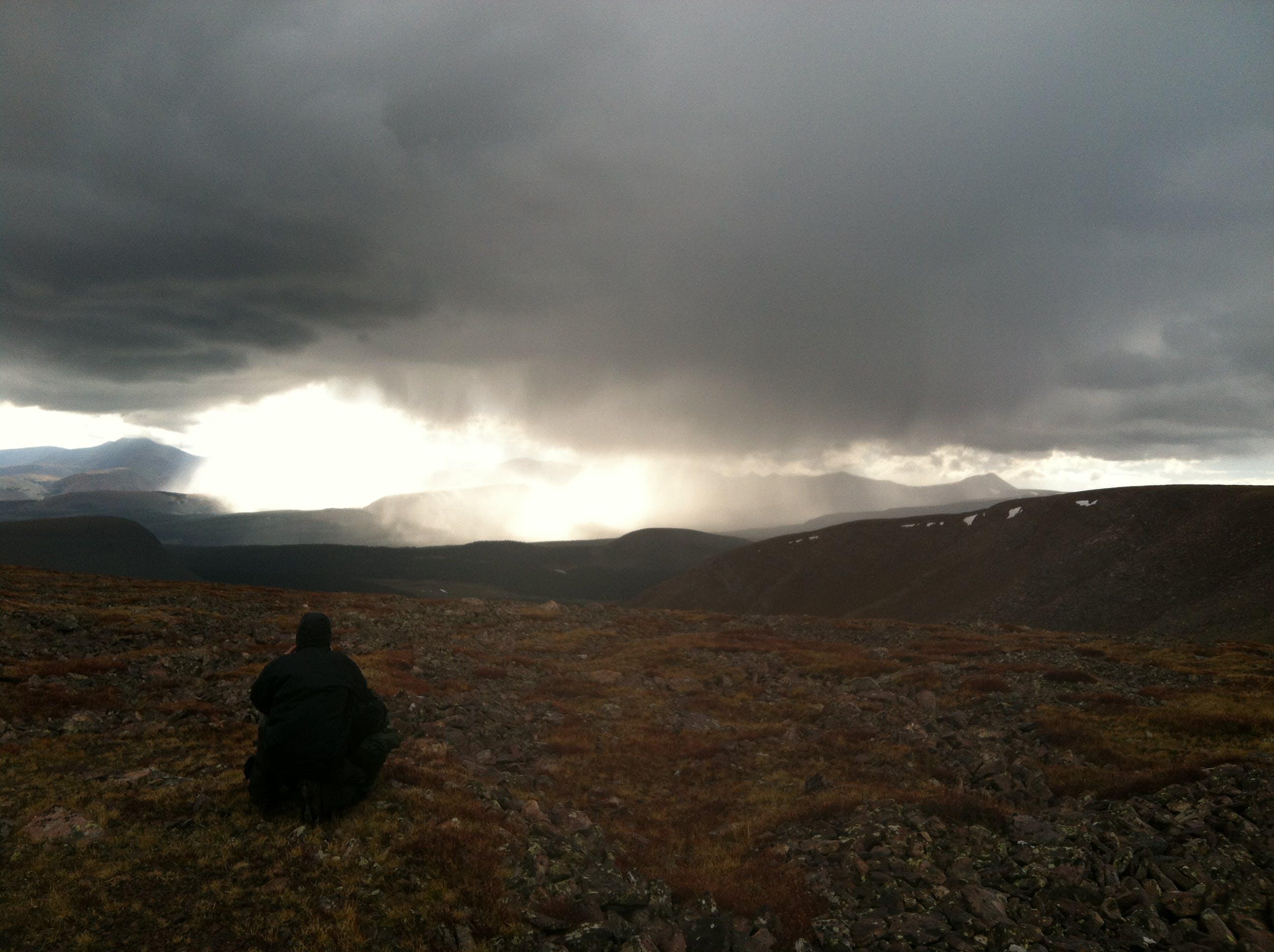 Free stock photo of backpacking, Joe Leineweber, thunderstorm, uinta mountains