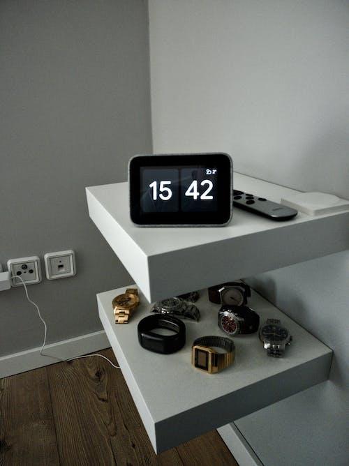 Free stock photo of alarm clock, smart clock, watches