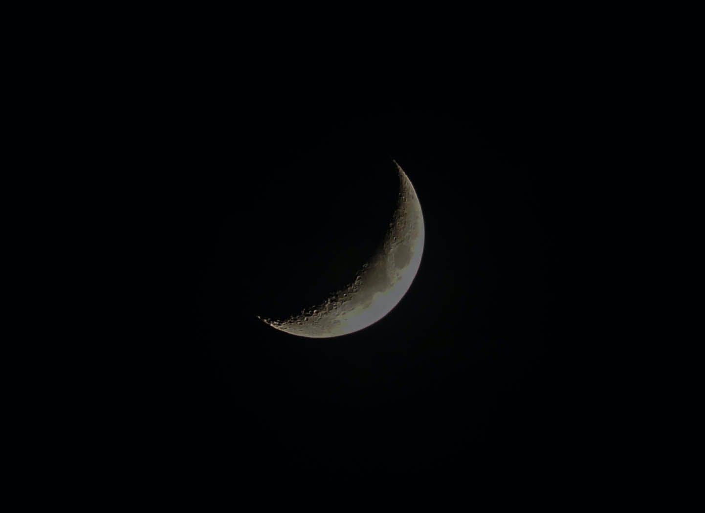 Half Moon Wallpaper Free Stock Photo