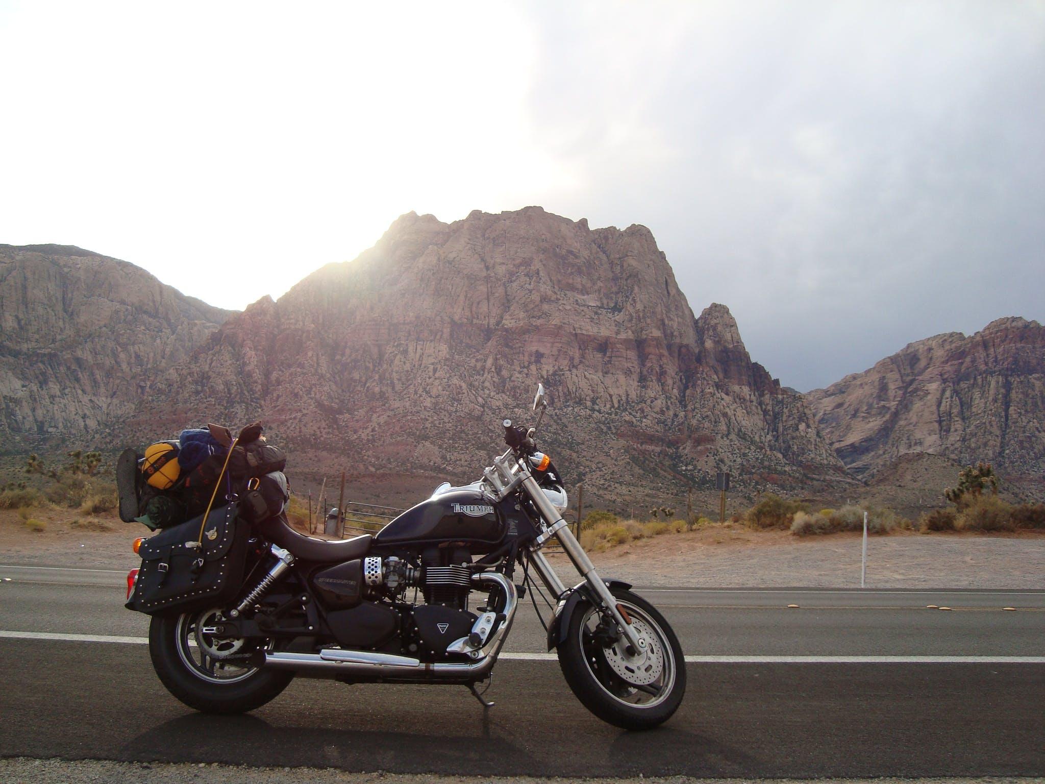 Free stock photo of Joe Leineweber, motorcycle, road trip