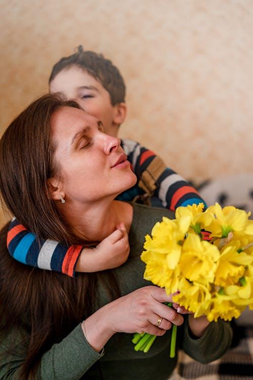Ingyenes stockfotó anya és gyermek témában