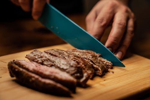 Darmowe zdjęcie z galerii z czerwone mięso, drewno, gotowanie
