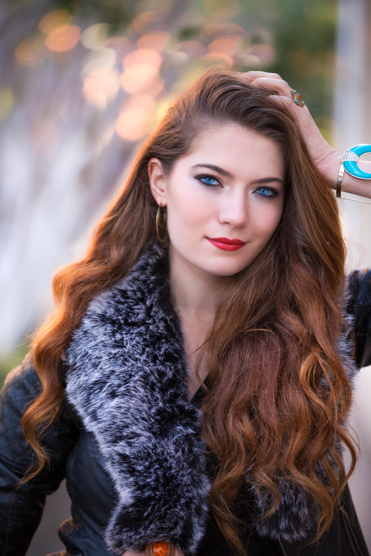 Close Up Photography Of Beautiful Girl Free Stock Photo