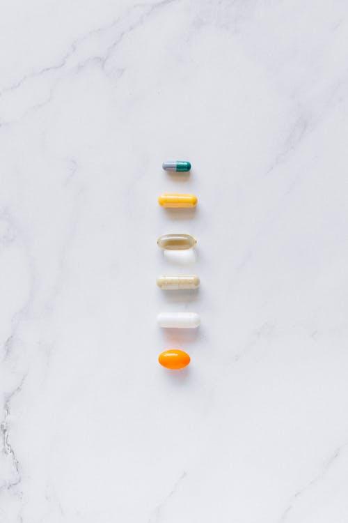 Fotos de stock gratuitas de cápsulas, medicina, pastillas