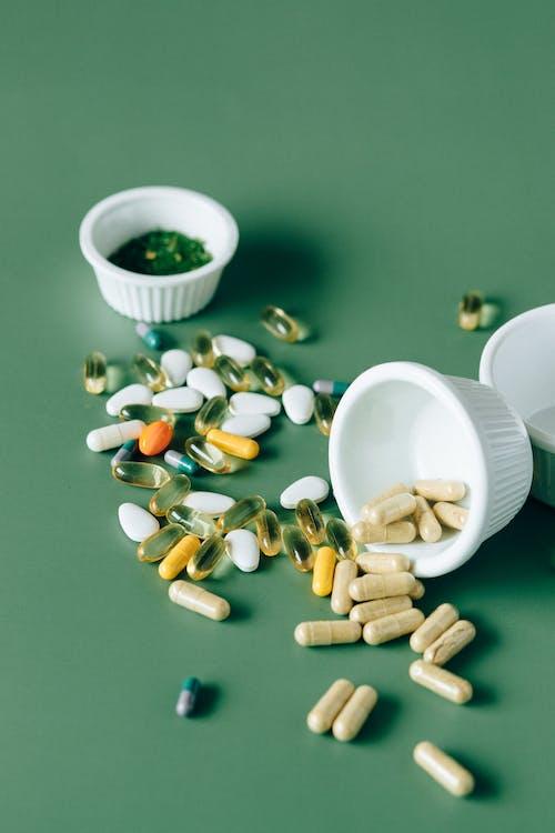 Flat Lay Photo of Alternative Medicines