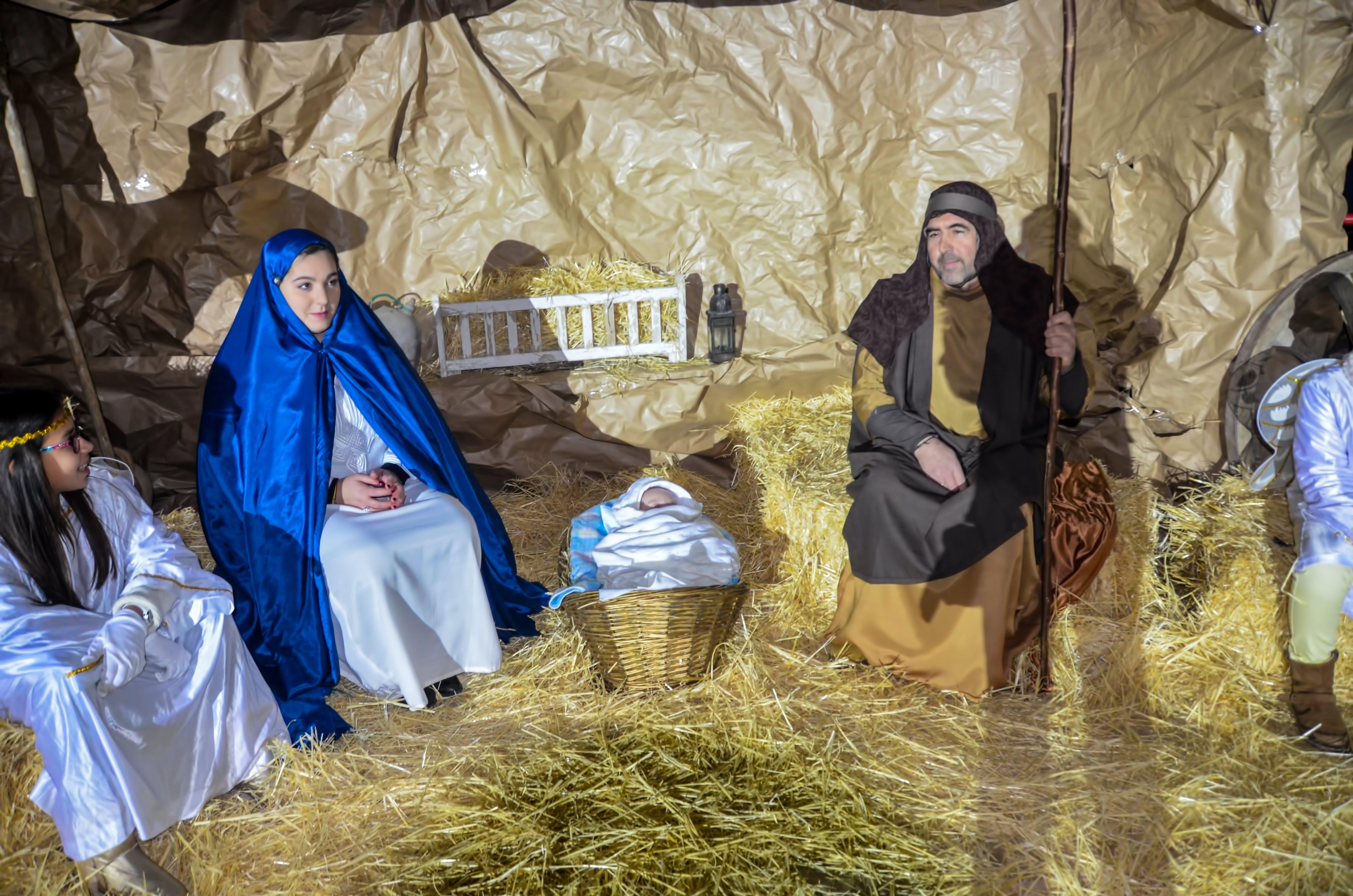 Free stock photo of -Navidad, belen, Belen viviente