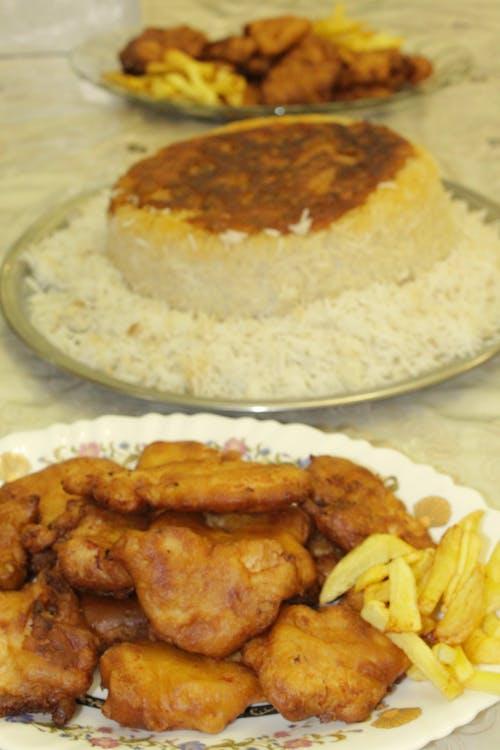 Free stock photo of american food, chiken, chineess chiken