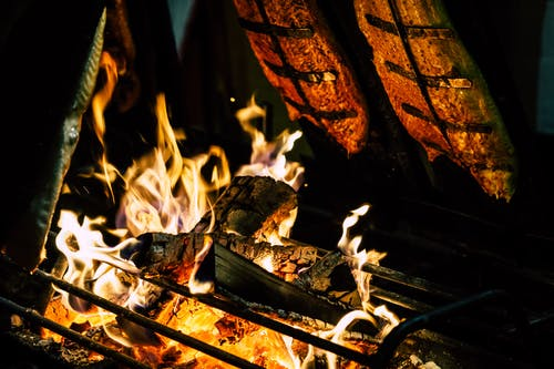 原本, 壁爐, 木炭, 漆黑 的 免費圖庫相片