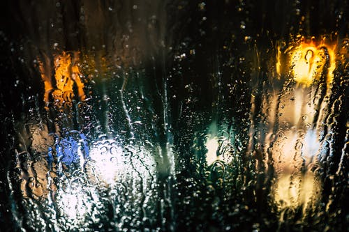 Základová fotografie zdarma na téma barvy, déšť, mokrý, noc