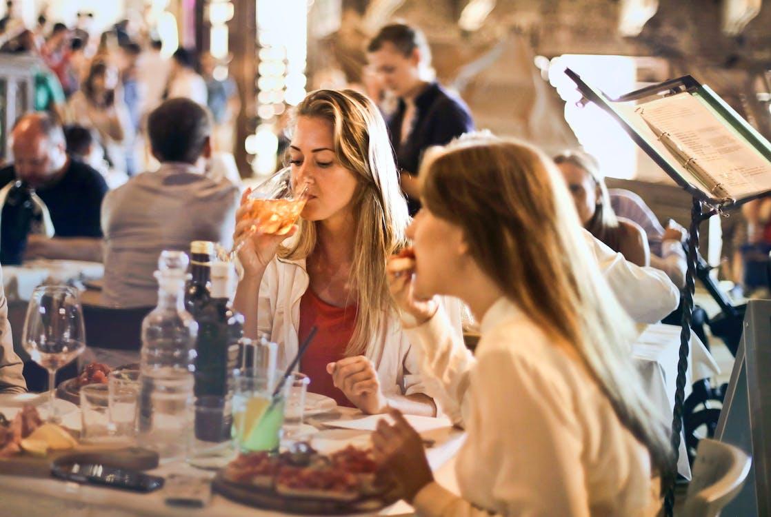 amici, bevanda, cena