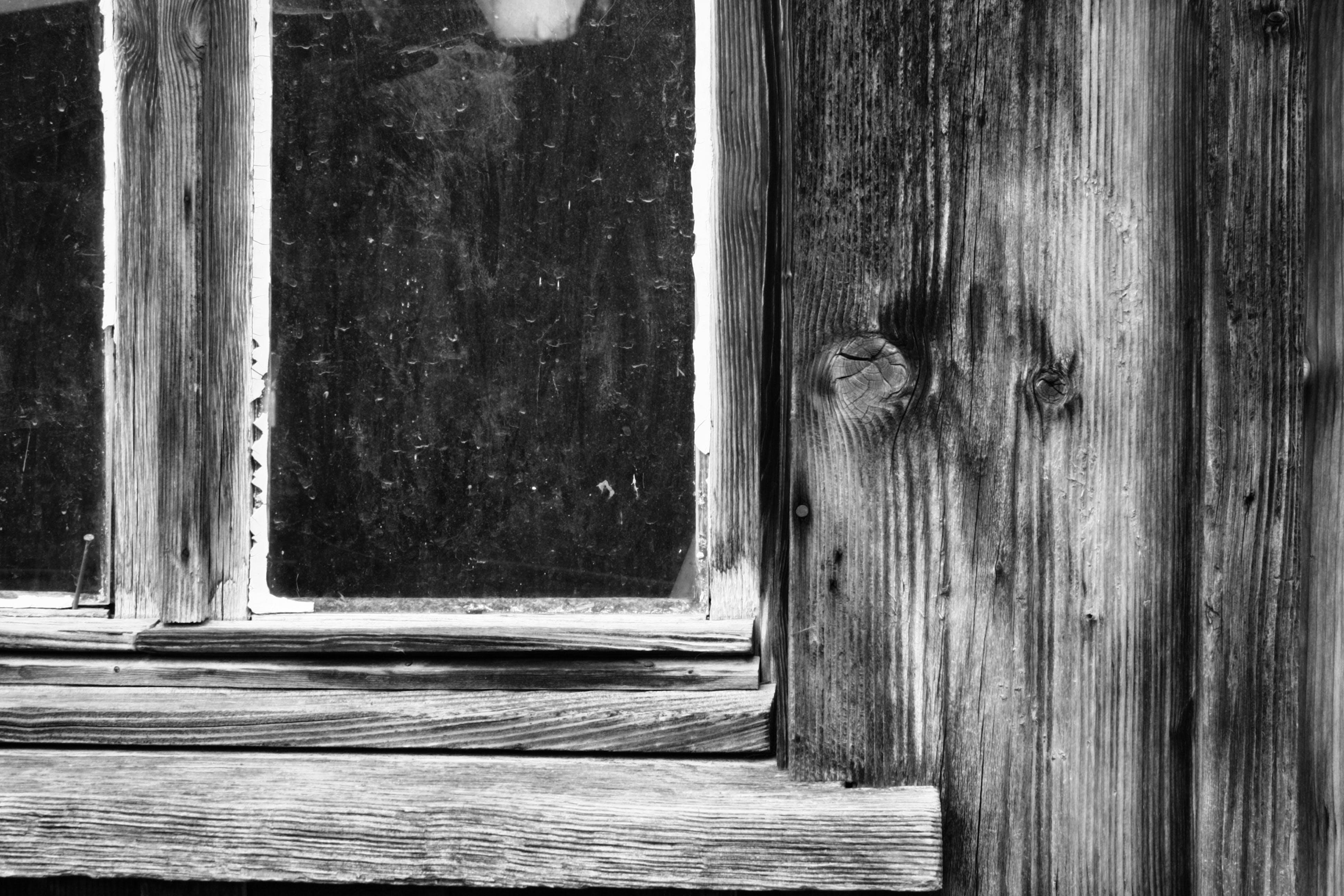 Gratis lagerfoto af bondegård, sort/hvid, sort/hvid fotografi, træ