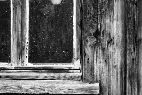 原本, 視窗, 農舍, 黑白攝影 的 免费素材照片