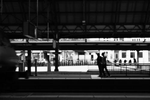 中心站, 人, 火車月台, 火車站 的 免费素材照片