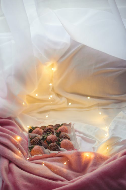 Free stock photo of breakfast, chocolatepink, lights