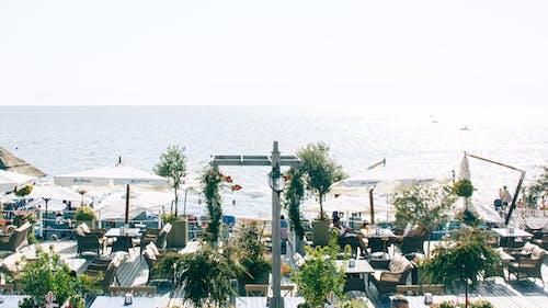คลังภาพถ่ายฟรี ของ การท่องเที่ยว, ขอบฟ้า, ชายทะเล, ชายหาด