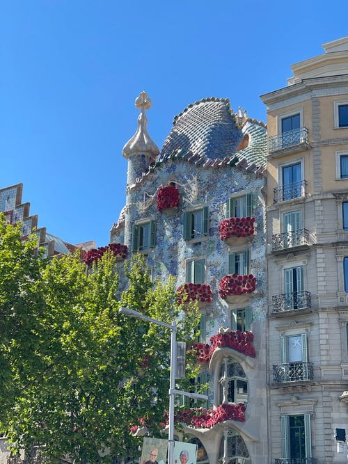 Gratis stockfoto met architectuur, art nouveau, attractie