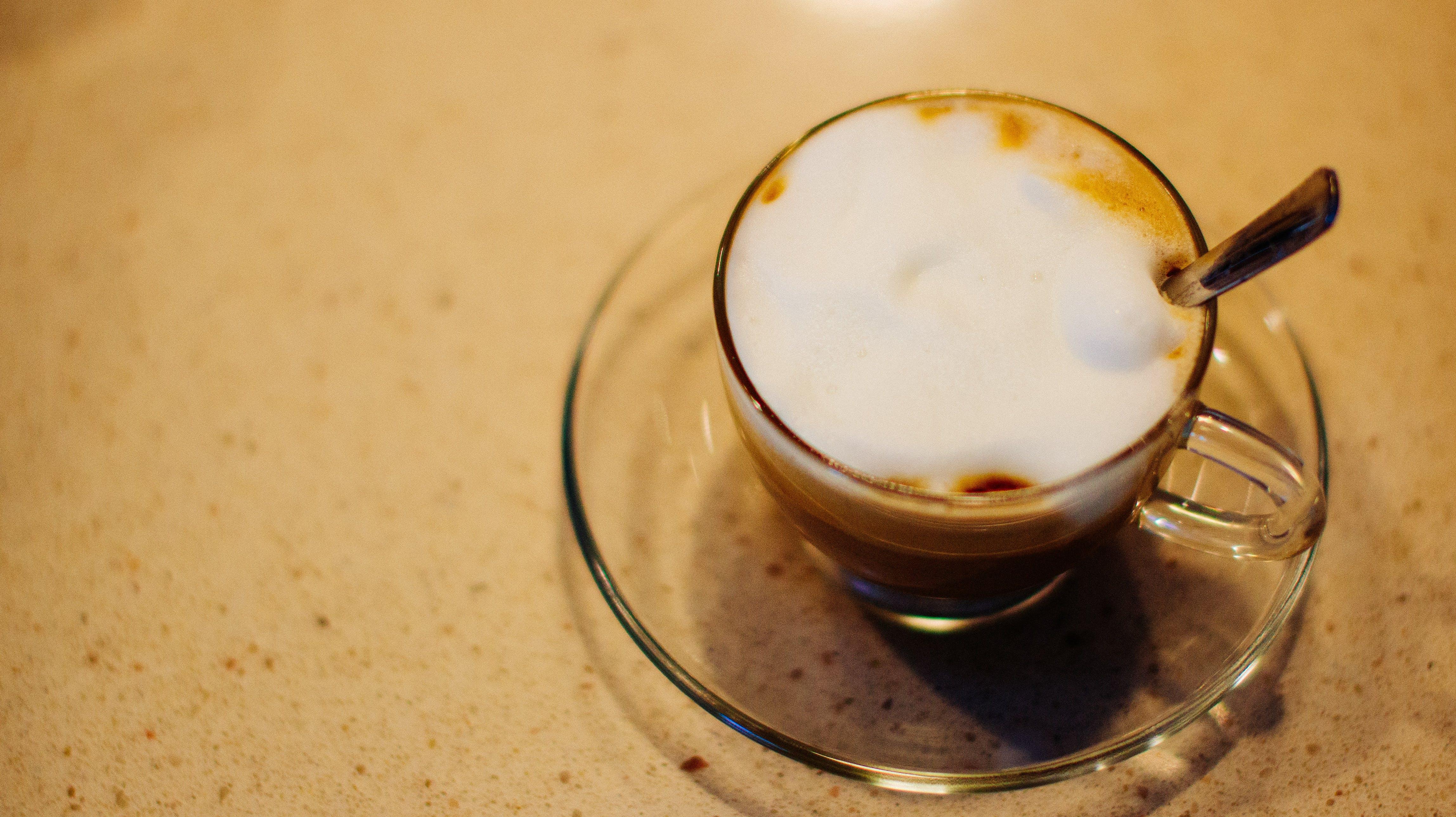 Free stock photo of cappuccino, coffee, yum