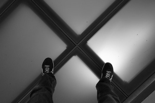Free stock photo of Utrecht, black and-white, glass floor, tivolivredenburg