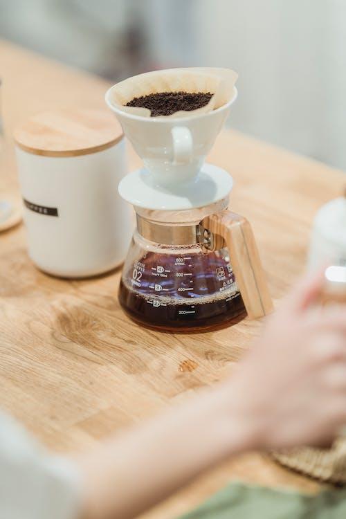 Foto profissional grátis de bebida, cafeína, caneca