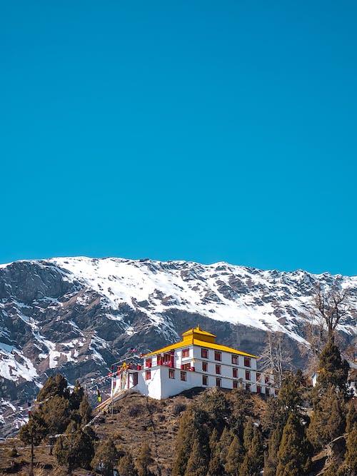 Free stock photo of beautiful sky, blue mountains, bluesky