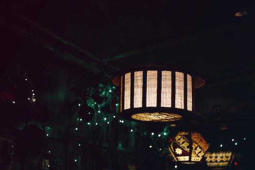 Free stock photo of light, restaurant, art, night