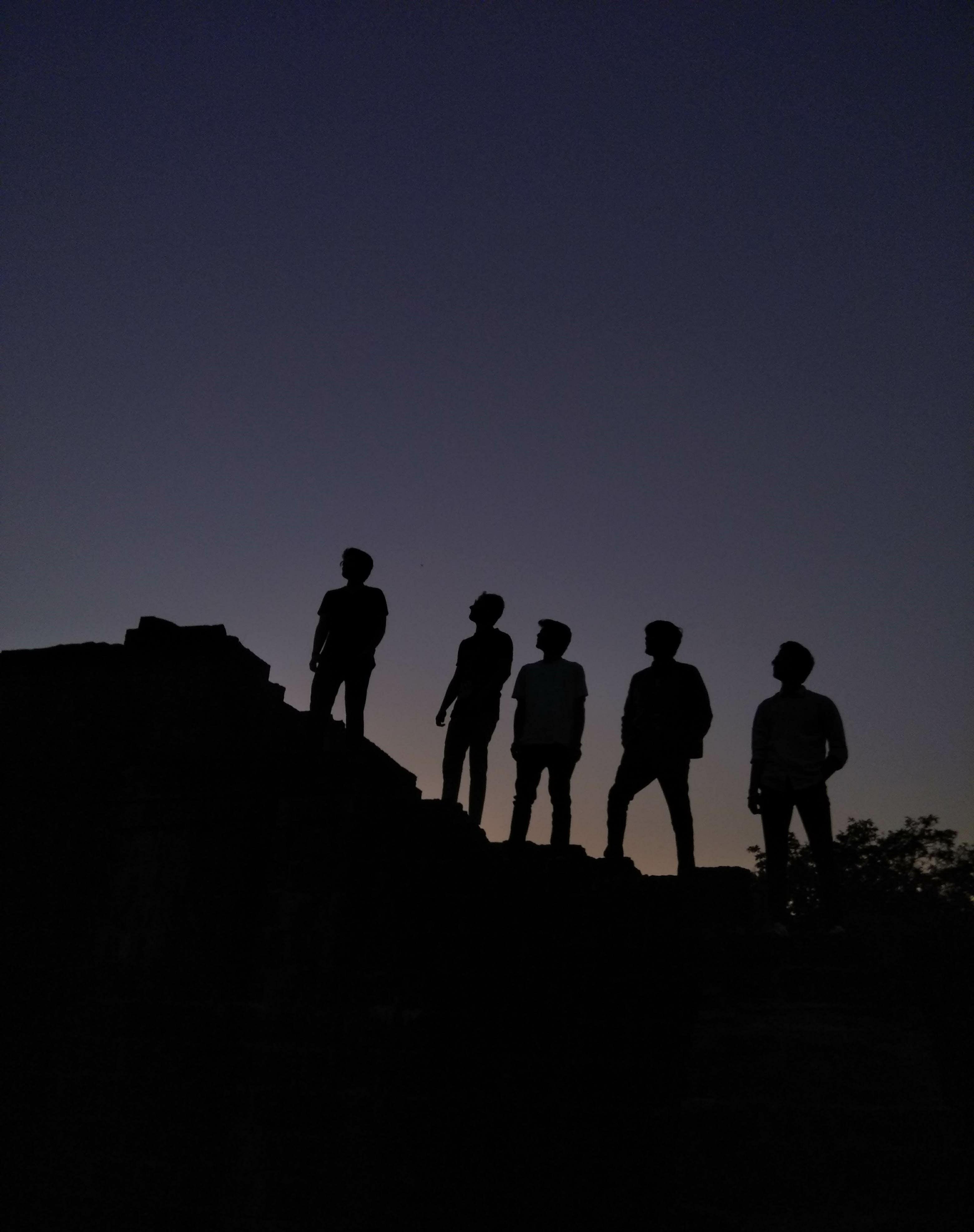 Free stock photo of black, dawn, dream, friend