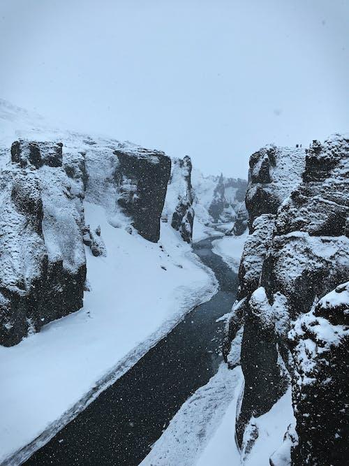 Free stock photo of canyon, hill, lake