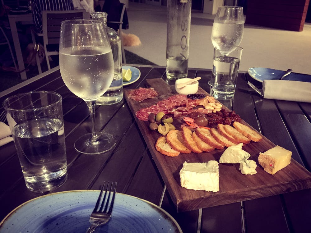 date night, dinner, facebook