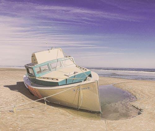 Imagine de stoc gratuită din ambarcațiune, apă, barcă, cer