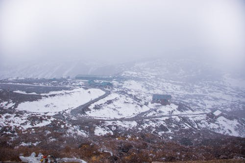 Photos gratuites de brouillard, brume, colline