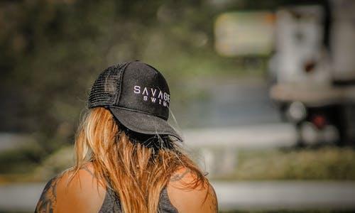 Women's Black Savage Baseball Cap