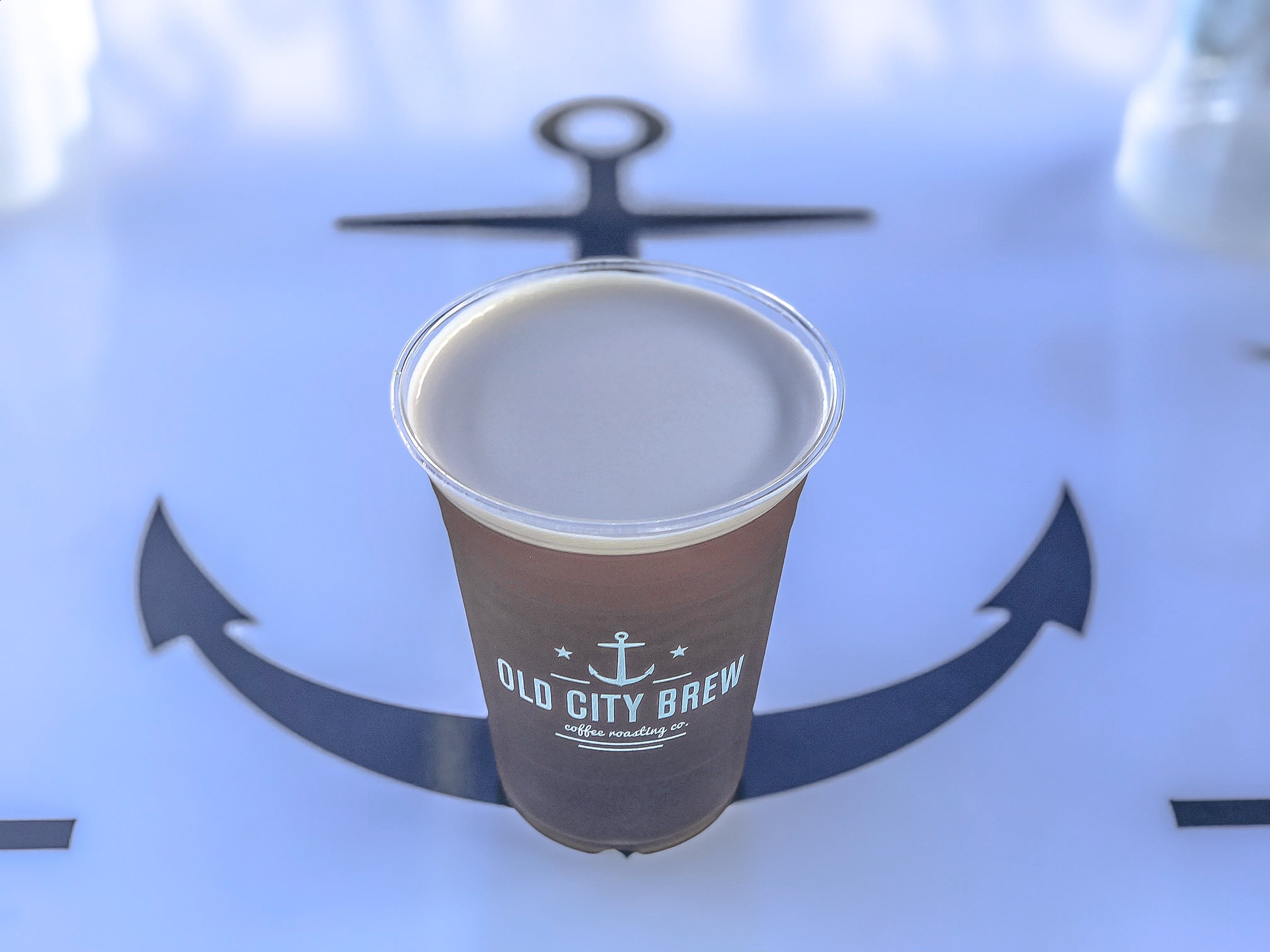 Brown Old City Brew Can