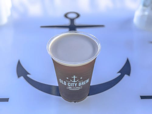 Foto profissional grátis de âncora, bebida de café, café, café com leite