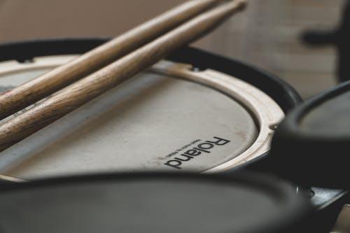 Free stock photo of drum set, drums, drumstick