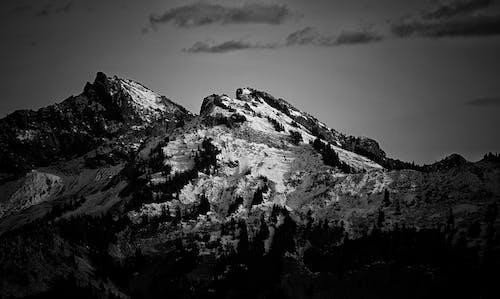 Foto d'estoc gratuïta de a l'aire lliure, blanc i negre, cel, Fons de pantalla HD
