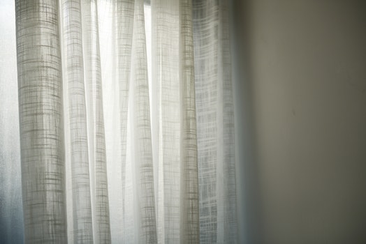 Photo of White Curtains