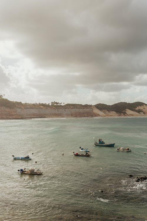 Darmowe zdjęcie z galerii z burza, krajobraz, łódź