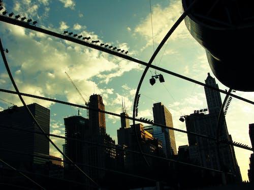 คลังภาพถ่ายฟรี ของ กลางวัน, ตอนบ่าย, ตะวันลับฟ้า, ตึก