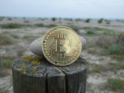 Gratis stockfoto met altcoin, bitcoin, steen