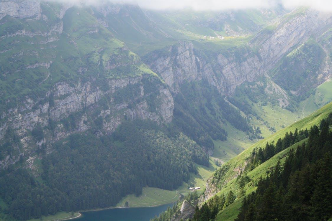 山, 山峰, 山脈