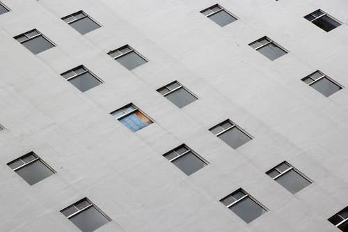 Free stock photo of windows from the building